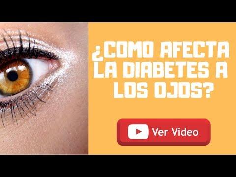 COMO AFECTA LA DIABETES A LOS OJOS