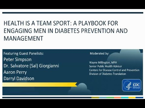 Health Is a Team Sport: Connecting Men to Resources for Diabetes Prevention and Management