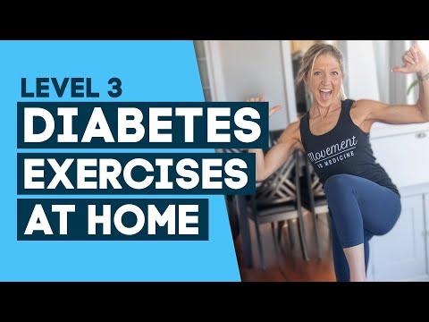 Diabetes Exercises At Home Workout: To Help Control Diabetes (Level 3)