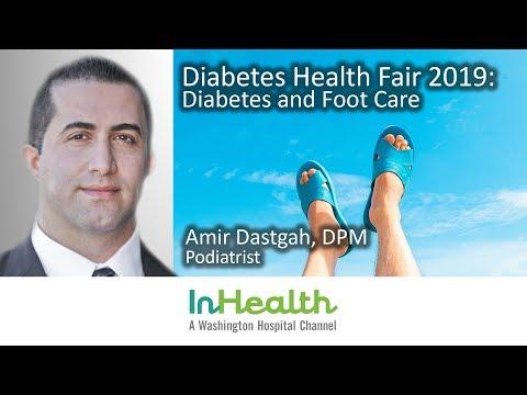 Diabetes Health Fair 2019: Diabetes and Foot Care