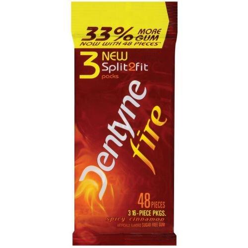 Dentyne Fire Spicy Cinnamon Count