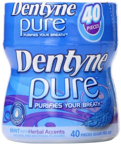 Dentyne Herbal Accents 40 Piece Bottle