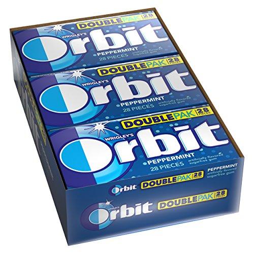 Orbit Peppermint Sugarfree 28 Piece Pack
