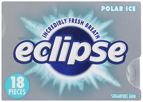 Eclipse Sugarfree Gum Polar Pieces