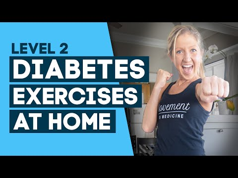 Diabetes Exercises At Home Workout: To Help Control Diabetes (Level 2)
