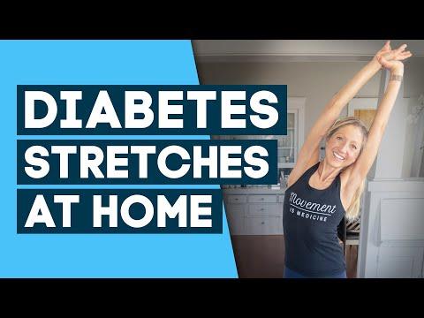 Diabetes Workout – Best Stretches to Help Control Diabetes
