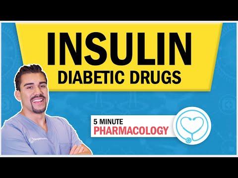 Pharmacology for Nursing – Diabetic drugs Insulin Types & Memory Tricks (Peak, Onset, & Duration) RN