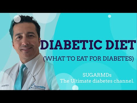 Diabetic Diet! What to eat for Diabetes? Doctor explains it all!