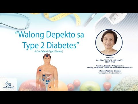 Walong Depekto sa Type 2 Diabetes (Philippines)