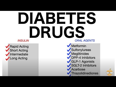 Diabetes Drugs (Oral Antihyperglycemics & Insulins)