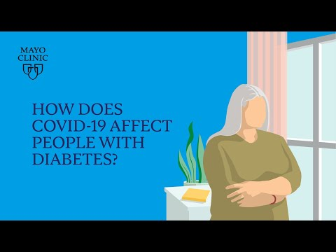 Mayo Clinic Insights: How COVID-19 affects people with diabetes