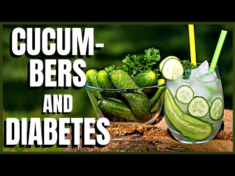 Cucumbers and Diabetes